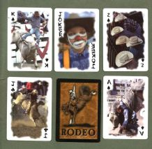 Collectable Non-standard court playing cards Rodeo